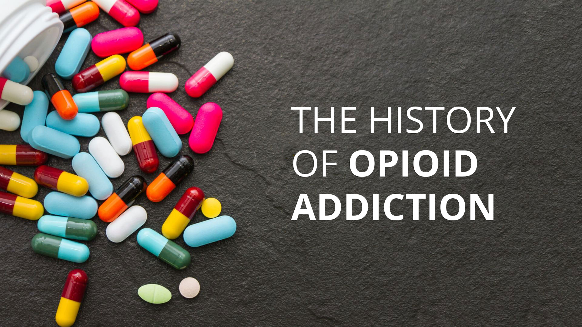 the history of the opioid epidemic