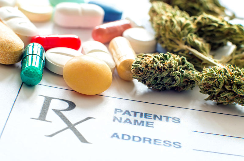 Mixing cannabis and prescription drugs can be lethal