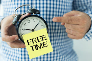 Learning how to deal with free time in recovery is as hard as recovery.