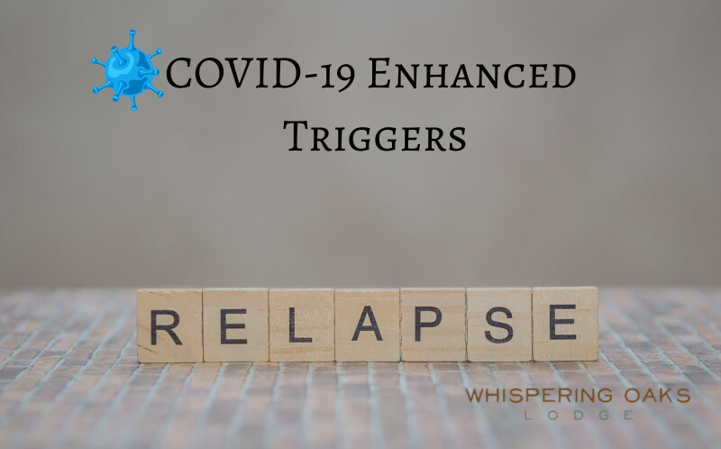 Covid pandemic enhancing relapse triggers for those struggling