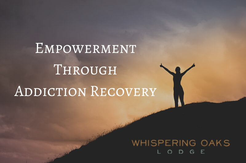 Overcoming your addiction through recovery can often be empowering for some.
