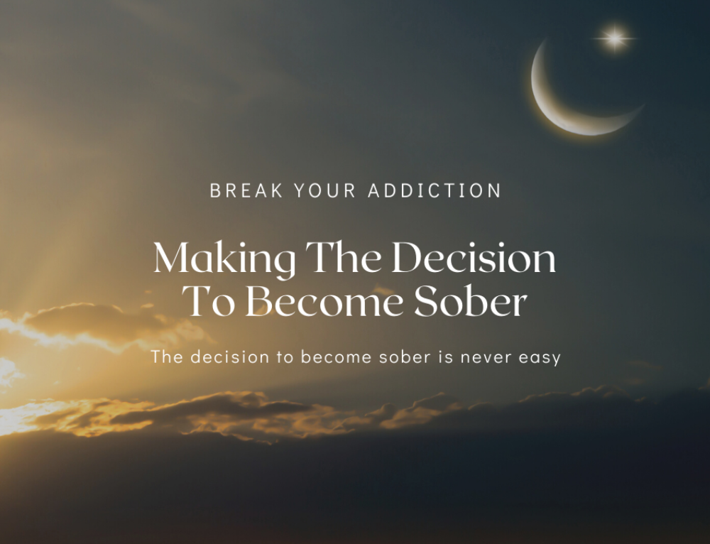 The Decision To Change – Overcoming Addiction