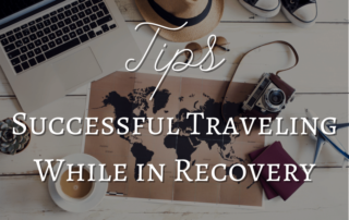 how to travel during recovery