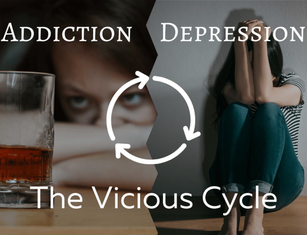 Addiction and Depression – The Vicious Cycle